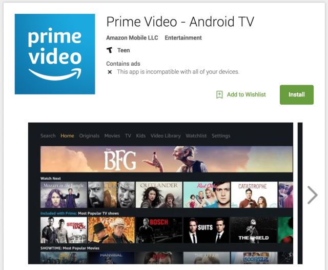 Amazon Prime Video comes to Android TV but you can't download it yet has been posted on https://www.trendingapk.com/amazon-prime-video-comes-to-android-tv-but-you-cant-download-it-yet/