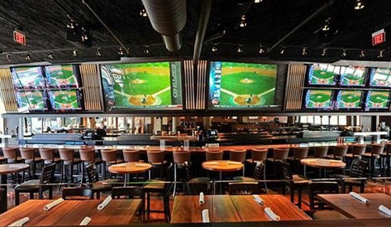 Nice Sports Bar Setting!
