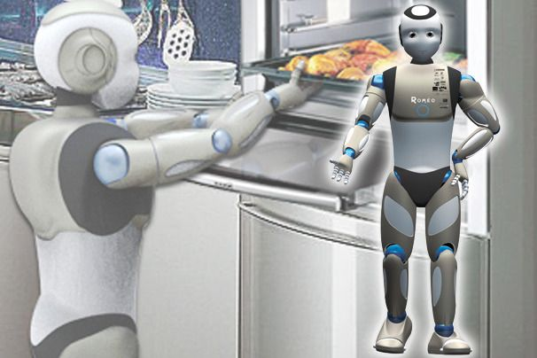 Domestic Robots: High-Tech House Helpers | PCWorld