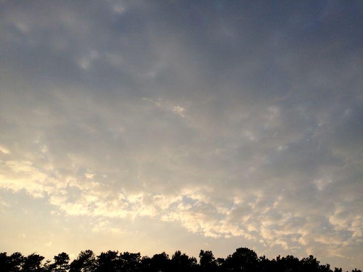 2017년 8월 6일의 하늘 #sky #cloud #sunset