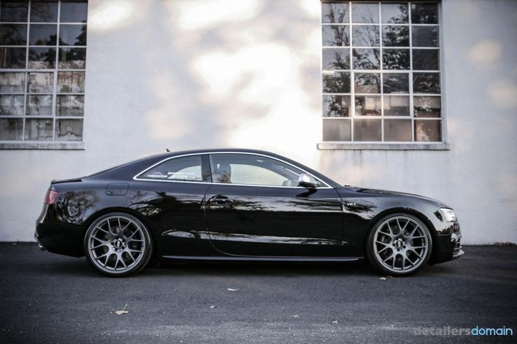 Audi S5 With Bbs Ch-r 1 step polish with Lusso Oro