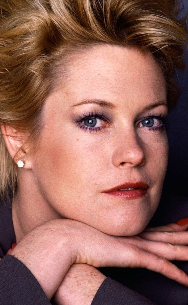 Melanie Griffith has been in the film industry since she was 12 and has always been regarded as a natural beauty