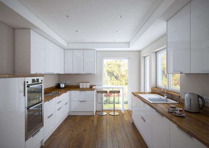 Kitchen CGI on Behance