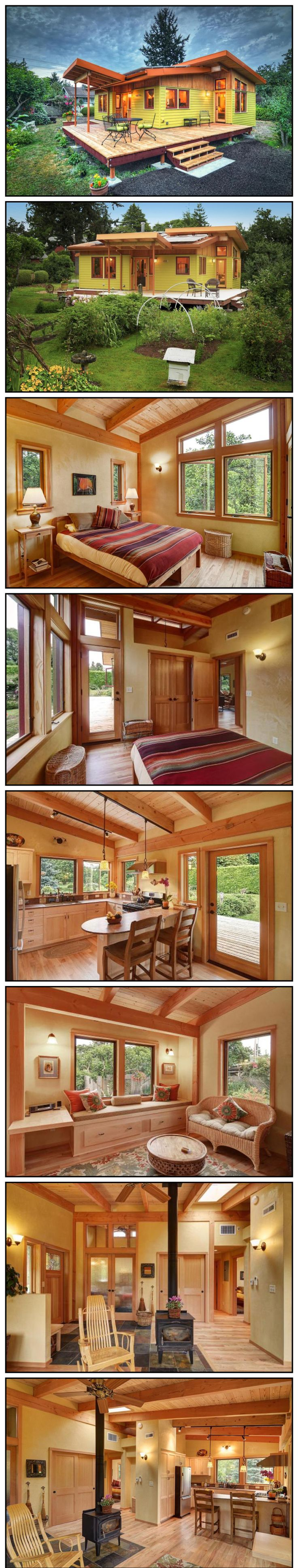 Every Tiny House Needs a Porch (and roof deck)