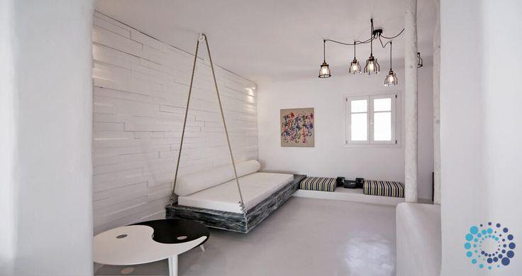 "Welcome to the ""Villa Alice"" in Mykonos, Greece. Your #luxury #villa #rent #greece #greek #island #vacances #grece #mygreekvilla #alouer"