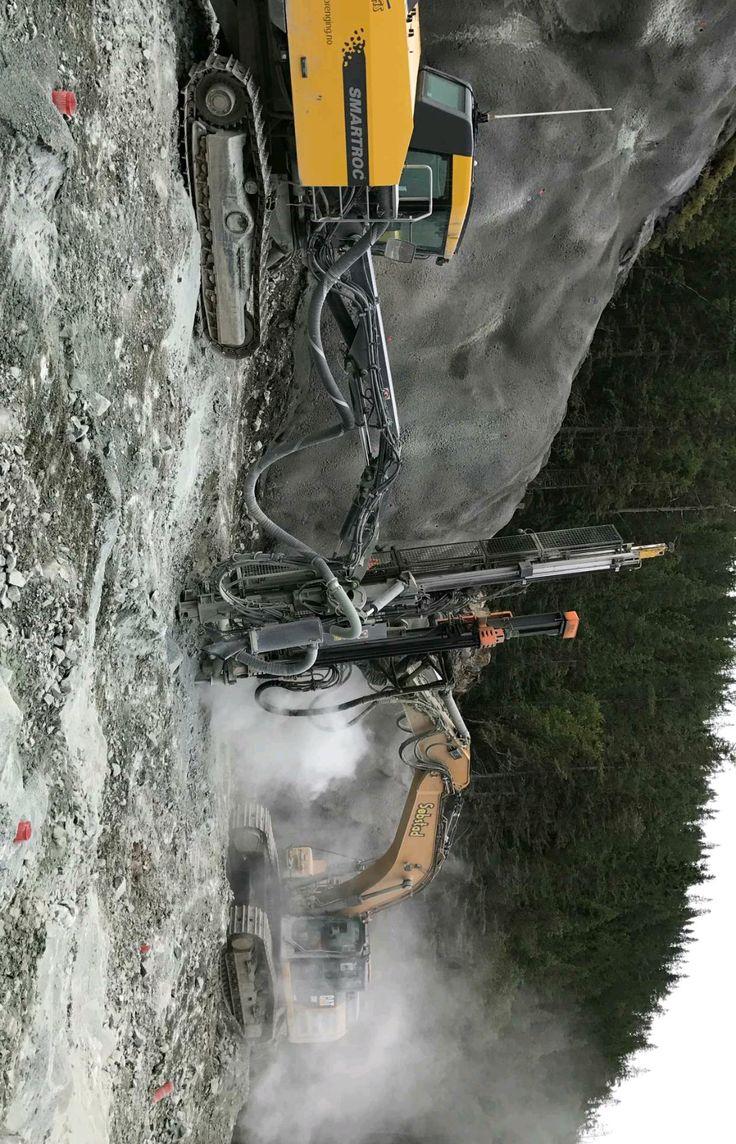 Smartroc T35 m/com 2540 VS. Cat m/Exadrill Cop 1840