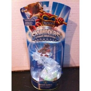 Skylanders Crystal Clear Variant Wham-shell Character By Activision