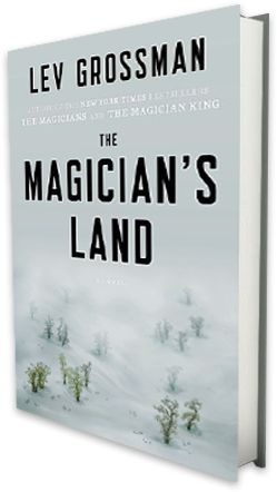#Week 34--the third book of a trilogy: The Magician's Land by Lev Grossman