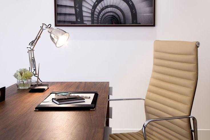 Luxury Study Rom   JHR Interiors