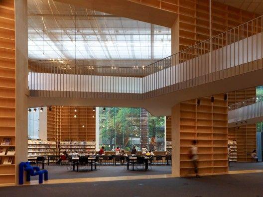 [Musashino Art University Museum & Library / Sou Fujimoto]