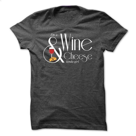 Wine & Cheese - #plain t shirts #polo sweatshirt. PURCHASE NOW => https://www.sunfrog.com/LifeStyle/Wine-amp-Cheese-Ladies.html?60505