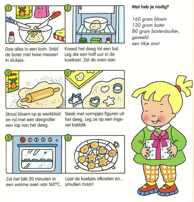 Koken met kleuters! | simpele koekjes