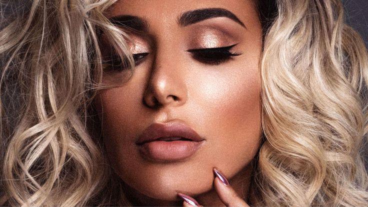 Huda Beauty, Huda Kattan, Huda Kattan Beauty Business, Huda Kattan Harper's Bazaar, Huda Kattan Sephora, #Beauty, 3D Highlighter, New Launch, Make-Up, Make-Up Artist, Cosmetics