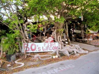 Best fish sandwich, on Caroline Street in Key West