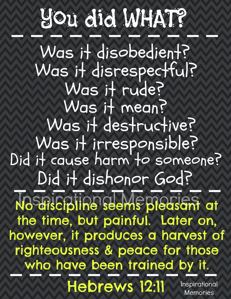 FREE Printable Discipline Chart!!!  A great tool for kids to learn to take responsibility for their actions!  Just add your own consequences/disciplines! Go to Etsy Site  follow link to free download! https://www.etsy.com/shop/inspirationalmemory   #freeprintable #inspirationalmemories