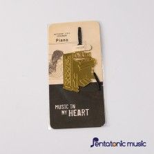 Music in My heart Bookmark - Piano