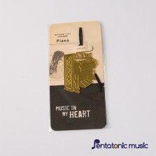 Music in My heart Bookmark - Piano