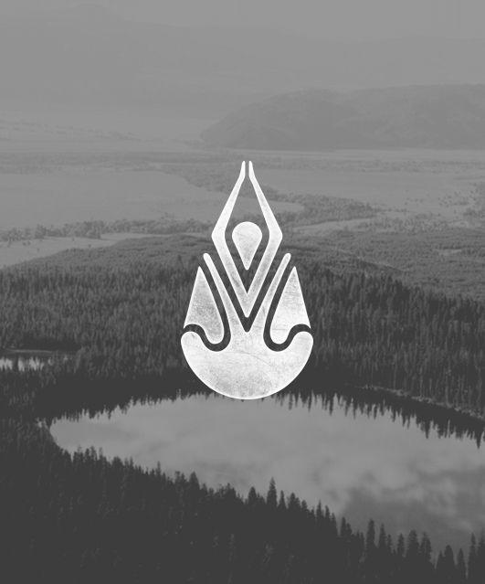 Yoga + Drip logo / repinned on toby designs