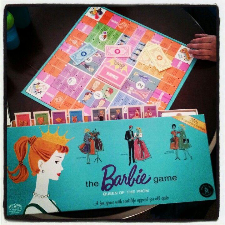 Vintage board game for Barbie #vintage #throwback via Janice Challen