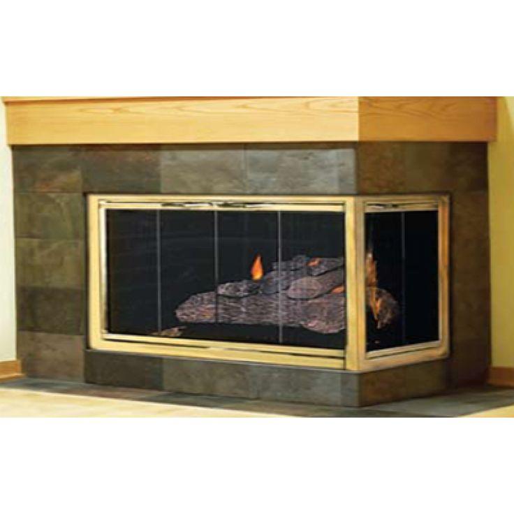 17 best Masonry Fireplace Glass Doors for Brick Fireplaces ...