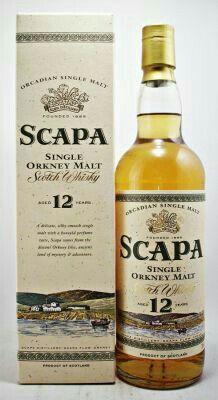 Scapa single malt Scotch Whisky Orkney Malt