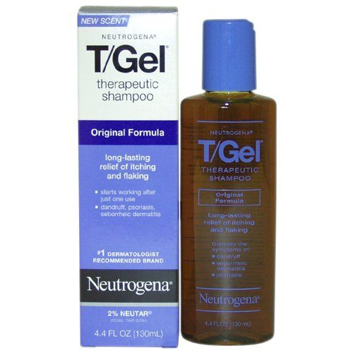 But what completely got rid of my scalp psoriasis is the Neutrogena Therapeutic T/Gel Shampoo 2
