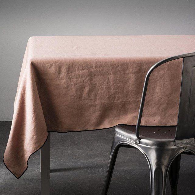Les 25 meilleures id es de la cat gorie nappe lin sur pinterest rideaux nappe linge de maison - Nappe en lin lave ...