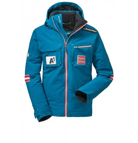 Austrian Ski Jacket (Adult size) It is a challenge to find a jacket that does it all. The solution is the Austrian Ski Federation Haakon jacket by Schoffel. With the relaxed freestyle fit, it offers you the same exactly the kind of functionality that is required. Waterproof, breathable and packed with technical features for your comfort and protection.
