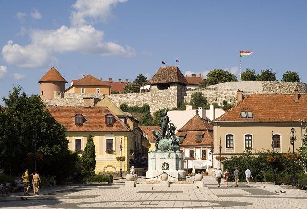 Dobó Square, Eger, Hungary