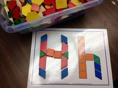 Kindergarten Is Crazy (Fun): Alphabet Literacy Center Ideas