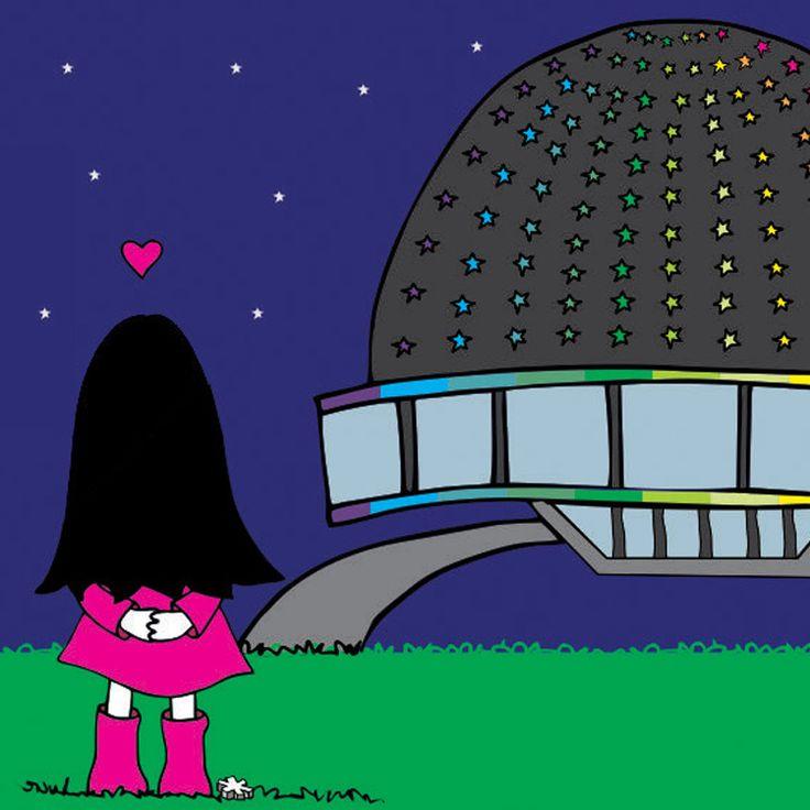 Lux hawaiana!   #lux #muñeca #pink #doll #planetario #star #cielo #sky #love #amor #ilustration #ilustracion ver mas en FB: lux la muñeca