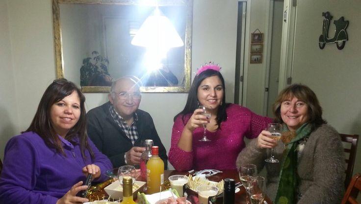 Con mis familia