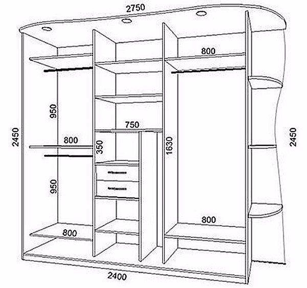 Как своими руками сделать шкаф-купе?