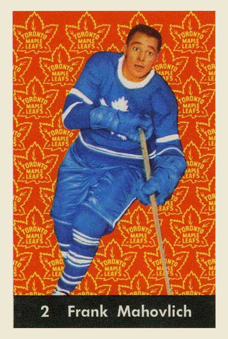 Frank Mahovlich  1961-62  Parkhurst Hockey Card