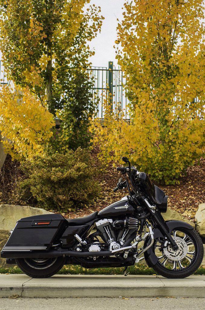 Harley Davidson Street Glide Air Suspension