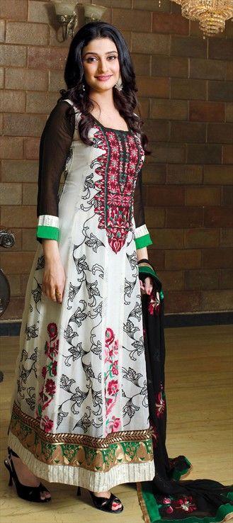 99884: TV's girl-next-door RAGINI KHANNA's modeled anarkali collection is here!