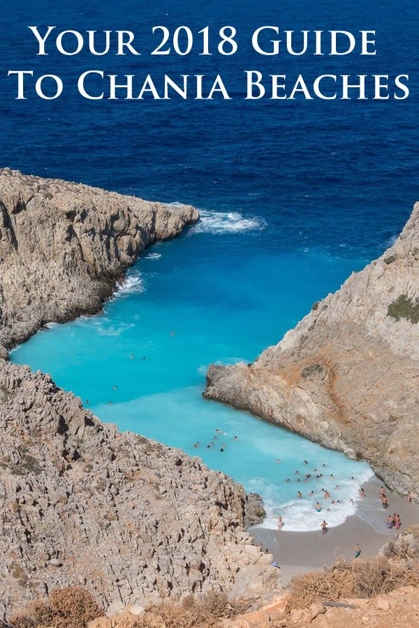 Going to the beach in Greece? Here are a few beaches in the Chania province, in Crete, the biggest Greek island