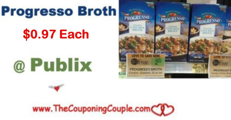 Progresso Broth Publix Deal Only $0.97 each starting 11/24. Print Coupons Now for this upcoming deal. Time to stock a few! **  Click the link below to get all of the details ► http://www.thecouponingcouple.com/progresso-broth-publix-deal-only-0-55-each/ #Coupons #Couponing #CouponCommunity  Visit us at http://www.thecouponingcouple.com for more great posts!