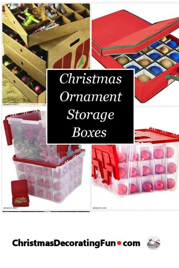 Are you looking for Christmas ornament storage boxs with 40 compartments?  Look no further! - Christmas Ornament Storage Boxes � Christmas! Pinterest