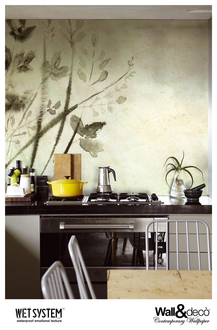 Shoko www.wallanddeco.com #wallpaper, #wallcovering, #wetsystem
