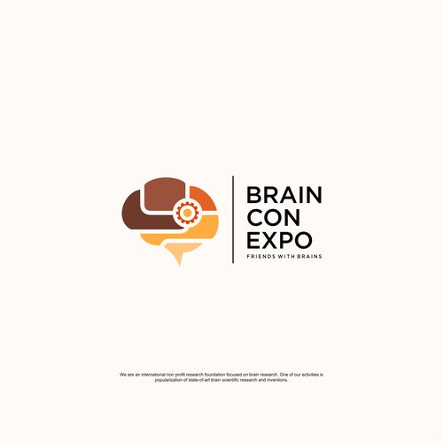 State-of-the-art logo for state-of-the-art nonprofit! Help revolutionize Brain Con Expo  Design by Nana 808