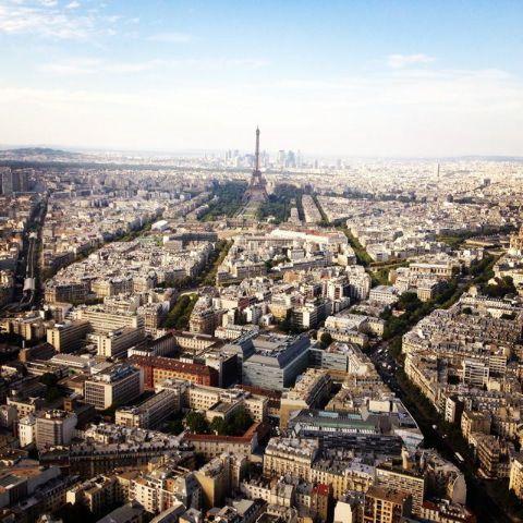 Restaurant Le Ciel De Paris! 56 Floors To The Top. Monparnasse District.