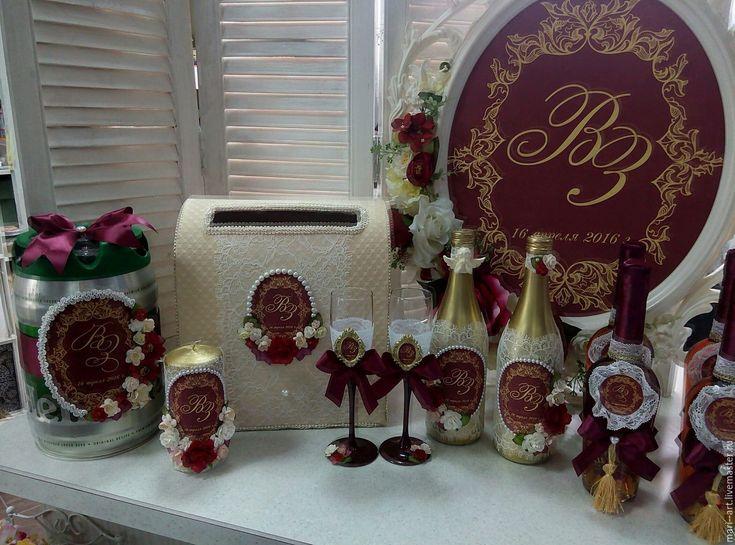 Купить Набор свадебных аксессуаров! - аксессуары, свадебные аксессуары, украшение на свадьбу, декор свадьбы