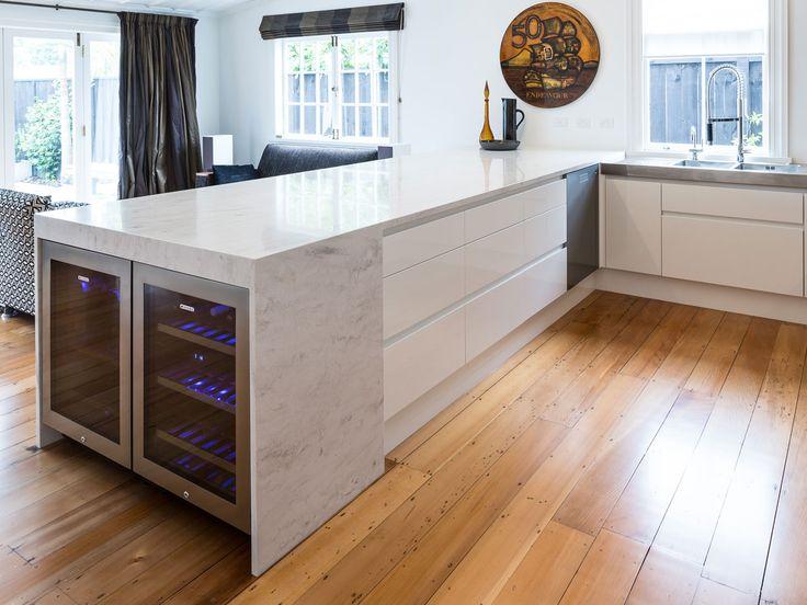 Nichola Blakely For Kitchens By Design Wanganui Avenue Corian® Rain Cloudu2026