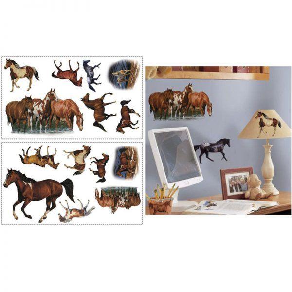 Wild Horses Wall Stickers