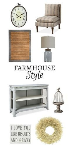 Rustic Farmhouse Living Room Look From Target Getthelook ShopStyle