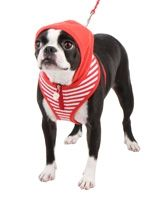 Striped Hoodie Dog Harnesses