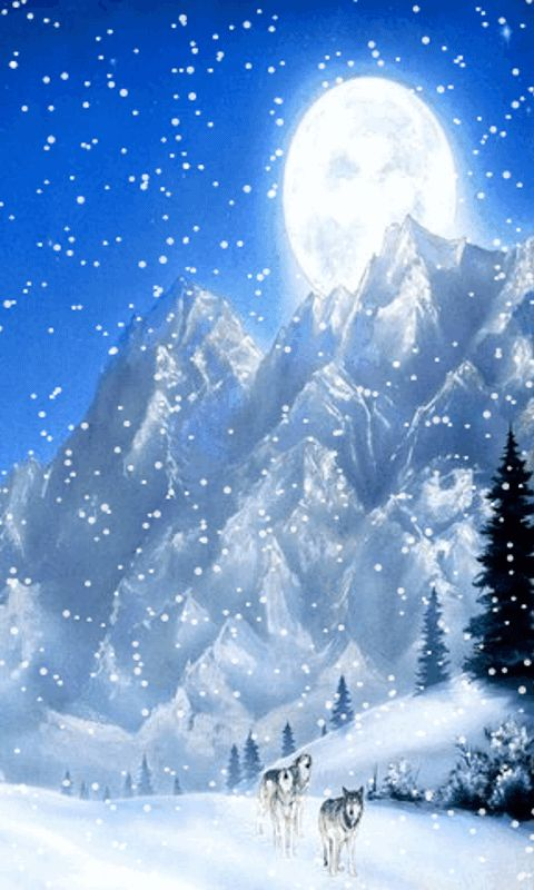 Download animated 480x800 mountains cell phone wallpaper - Free winter wallpaper for phone ...