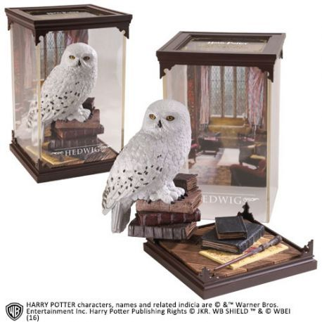 Harry Potter Diorama Magical Creatures Hedwig Noble Collection