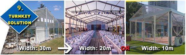 10 Things You Should Know Before Customizing A Marquee Tent Canopy - How to custom design a marquee tent canopy? What can be customized on a temporary tent structure? - 9. Turnkey Solutions  #weddingtarp #partytentheaters #cheaplargetents #tentdecorationsforparties #tentdesignforwedding #30persontent #largeoutdoortent #tentpurchase #usedpartytentsforsalecraigslist #canopytentforsalenearme #receptiontent #tenttable #tentweddingvenues #marriagetentprice #backyardtentsforsale #buyweddingtent